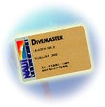 ダイブマスターカード
