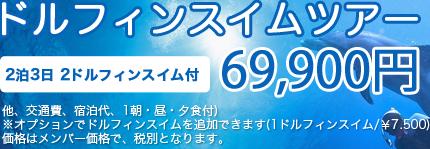 ドルフィンツアー79900円